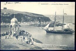 Cpa  Du 22 Dahouët  Arrivée D' Un Bateau Islandais       LZ55 - Pléneuf-Val-André