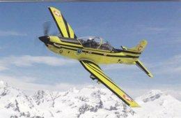 Pilatus PC-9 Au Dessus Des Alpes Grisonnes - 1946-....: Ere Moderne