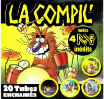 CD N°1655 - LA COMPIL' - COMPILATION + 4 POG INEDITS COLLECTOR - Compilations
