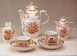 Germany - Postcard Unused - Charlottenburg Palace -  Chocolate Tea Service, Porcelain - Cartoline Porcellana