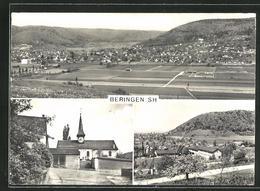 AK Beringen, Panorama, Kirche, Ortsansicht - SH Schaffhausen