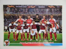 Arsenal Europa League Final 2019 In Baku - Fútbol