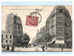75 PARIS - Rue Sarrette Prise Rue D'Alésia -14 ème Arrondissement - L. Jallet éditeur - Arrondissement: 14