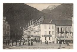 65 HAUTES PYRENEES - CAUTERETS Boulevard Latapie, Flurin Et Pic Du Monne - Cauterets