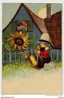 Lil174 2 CPA Illustration Voyagées 1931 - Hungary