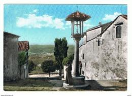 FIESOLE (FI):   S.  FRANCESCO  -  LA  CROCE  -  BROMOCOLOR  -  PER  LA  SVIZZERA  -  FG - Monumenti