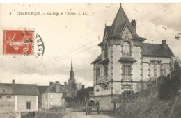 CHAMPAGNE - La Villa Et L'Eglise - France