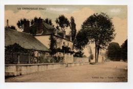 - CPA LA GRENOUILLE (18) - GENDARMERIE NATIONALE 1914 - Edition Roy - - Autres Communes