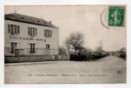 - CPA OIZON (18) - Mairie - Route D'Aubigny 1916 (ECOLE DE GARCONS) - Editions Gouttefangeas 532 - - France