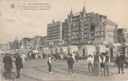 CPA - Belgique - Blankenberge - Blankenberghe - Une Partie De Croquet Sur La Plage - Blankenberge