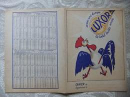 Année 60  1 Protège Cahier Avec Une Lampe LUXOR  Le Soleil Brille Encor Illustrtion Par CHAUVIAC - Mappe
