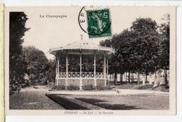X51104 EPERNAY Marne La Champagne Kiosque Musique Du JARD 1911 à PRESSOY Ugny Vaucouleurs Meuse - Epernay