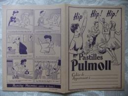 Année 60  1 Protège Cahier    PASTILLES PULMOLL - Mappe