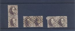Medaillons Paren Gestempeld (used) 10 Ct - 1863-1864 Medaillons (13/16)