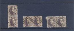 Medaillons Paren Gestempeld (used) 10 Ct - 1863-1864 Medaillen (13/16)