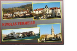 38 NIVOLAS VERMELLE Cpm Multivues - Francia