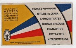 Buvard Les Engrais Azotés S.P.I.E.A. Sulfate D'ammoniaque Nitrate De Chaux Potazote... - Agriculture