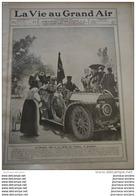1906 TOUR DE FRANCE AUTOMOBILE - SAUT EN HAUTEUR - FETE DU PRADO A MADRID - CIRCUIT DE LA SARTHE / MEULAN VOILE - Journaux - Quotidiens