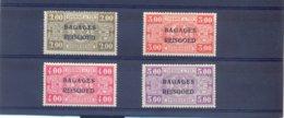 Nrs. BA11/BA14 Postgaaf ** Zeer Mooi MNH 225 Côte - Reisgoedzegels