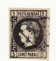 STAMPS-ROMANIA-1866-USED-SEE-SCAN - 1858-1880 Moldavia & Principato