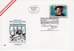FDC - Int. Kongress Richard Wagner SStpl 21.05.1986 Ersttag - FDC