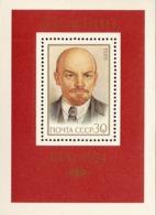 USSR Russia 1985 115th Birth Anniversary Lenin Soviet Union Communist People Politician Celebrations S/S Stamp MNH - Celebrations