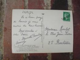 Barbatre Vendee Griffe Marque Lineaire Obliteration De Fortune Sur Lettre - Marcofilia (sobres)
