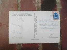 Morangis  Griffe Marque Lineaire Obliteration De Fortune Sur Lettre - Marcofilia (sobres)
