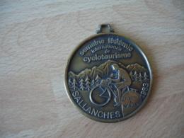 Velo Cycle  Cyclotourisme  Medaille  Sallanches Cyclotourisme Semaine Internationale 1983 - Ciclismo