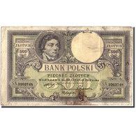 Billet, Pologne, 500 Zlotych, 1919, 1919-02-28, KM:58, B - Pologne
