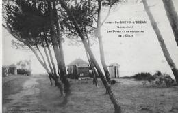 Saint-Brevin-l'Océan. Les Dunes Et Le Boulevard De L'Océan; - Saint-Brevin-l'Océan