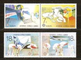 Chypre  Cyprus CEPT 1988 Yvertn° 691-94 *** MNH  Cote 5,50 Euro Transport Er Communication - Europa-CEPT