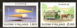 Finlande Finland Suomi CEPT 1988 Yvertn° 1015-1016 *** MNH  Cote 10,00 Euro Transport Er Communication - Europa-CEPT