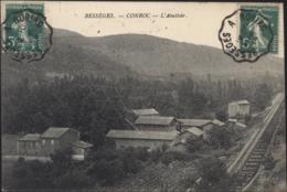 CPA Bessèges Conroc L'abattoir CAD Ambulant Bessèges à Robiac 1914 - Bessèges