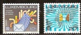 Luxembourg Luxemburg CEPT 1988 Yvertn° 1149-1150 *** MNH  Cote 8,00 Euro Transport Er Communication - Europa-CEPT