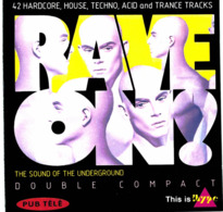 CD N°1683 - RAVE ON !  - COMPILATION 2 CD - Dance, Techno & House
