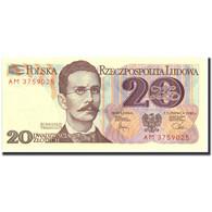 Billet, Pologne, 20 Zlotych, 1982, 1982-06-01, KM:149a, SPL - Pologne