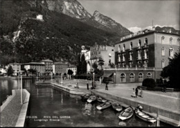 !  S/w Ansichtskarte Riva Del Garda, Albergo Bellavista, 1966 - Italia