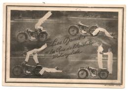 LES ROIS DE L'ACROBATIE MOTOCYCLISTE / LES DANIL'S VOUS RECOMMANDENT LA BRASSERIE L'ARMOR NANTES B922 - Motor Bikes