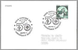 50 Años GRUPO SCOUT 1º. Viareggio, Lucca, 1994 - Movimiento Scout