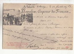 CPA Histoire - Décret Ecrit Et Signé Par Napoléon Ordonnant La Flottille à Boulogne -   - Achat Immédiat  (cd 003) - Histoire