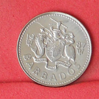 BARBADOS 10 CENTS 1987 -    KM# 12 - (Nº31426) - Barbados (Barbuda)
