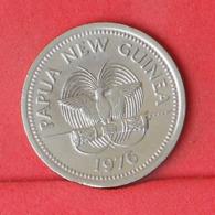 PAPUA 10 TOEA 1976 -    KM# 4 - (Nº31430) - Papoea-Nieuw-Guinea