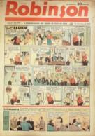 ROBINSON-1940/209-GUY L'ECLAIR-MANDRAKE-JEAN BOLIDE-POPEYE-FAMILLE ILLICO-LUC BRADEFER-JEAN MARIE Le MOUSSE - Riviste E Periodici
