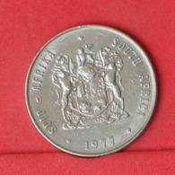 SOUTH AFRICA 1 RAND 1977 -    KM# 88a - (Nº31431) - Südafrika
