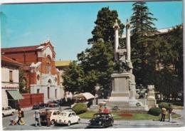 Gallarate: INNOCENTI AUSTIN MINI, FIAT 500, FORD ESCORT - Chiesa Di S.Francesco,Monumento Caduti - Toerisme