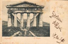 12724 - Segesta - Il Tempio ( Trapani ) F - Trapani