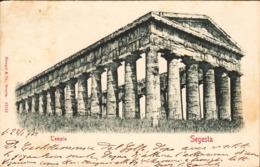 12725 - Segesta - Il Tempio ( Trapani ) F - Trapani