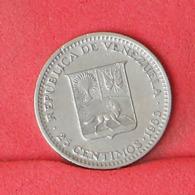 VENEZUELA 25 CENTIMOS 1965 -    KM# 40 - (Nº31450) - Venezuela