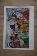 Poster James Ensor, L'intrigue - De Intrige - The Intrigue. 50X70cm - Populaire Kunst